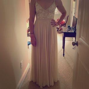 BHLDN Sadia Dress (color: oyster)